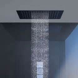 how to install a shower in the ceiling axor starck ceiling mount square shower 10625821