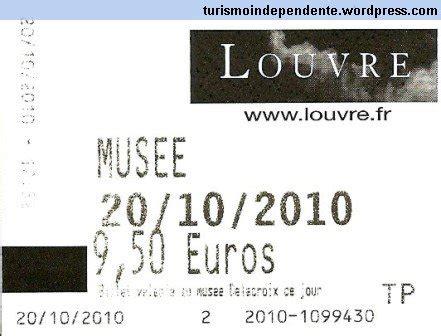 ingresso louvre louvre