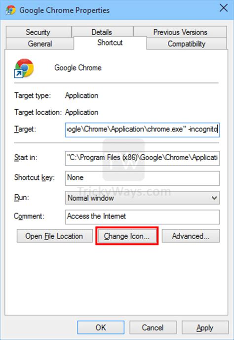chrome incognito shortcut create shortcut to open google chrome directly in