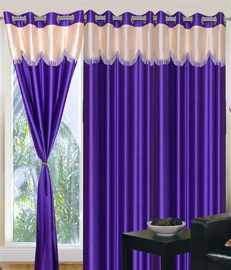 home sazz royal blue valance set of 2 fancy window curtains 5 buy home sazz royal blue