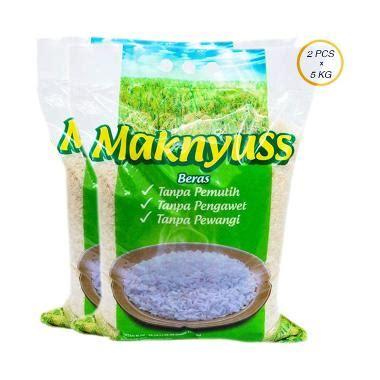 Beras Maknyuss 5 Kg 1 Pcs jual beras maknyuss 5 kg 2 pcs harga kualitas