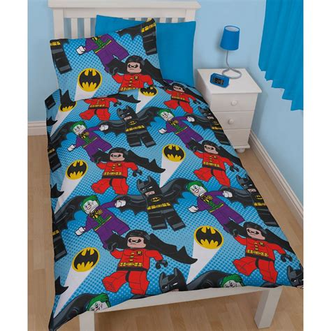 Batman Bedroom Set For Adults by Dc Comics Batman Superman Duvet Cover And Pillowcase