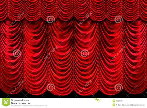 stage with red curtains red curtains stage