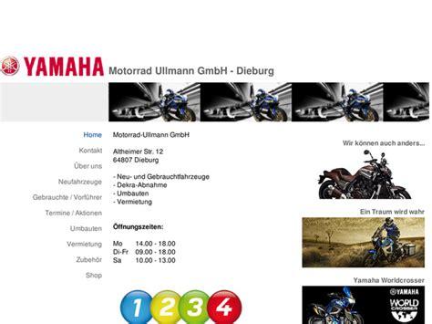Motorrad Yamaha H Ndler Nrw by Motorrad Ullmann Gmbh In Dieburg Motorradh 228 Ndler
