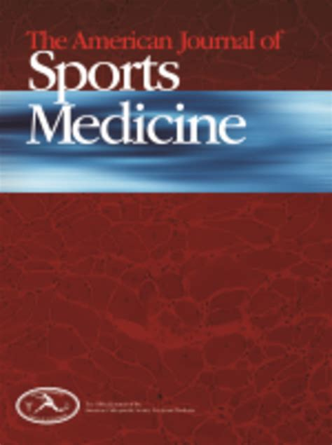 sporting journal american journal of sports medicine