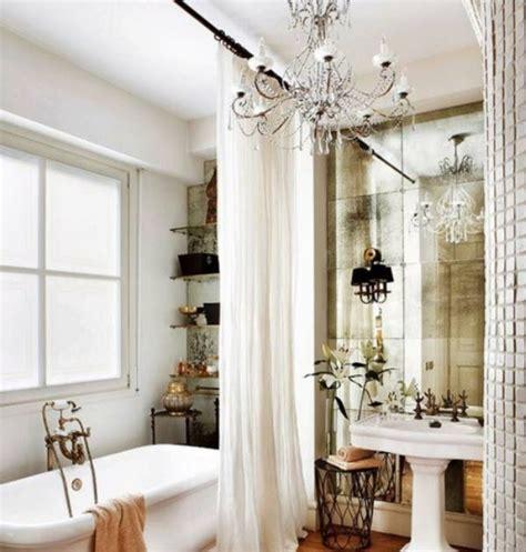 Kronleuchter Im Badezimmer by Wunderkammer Inspiration Ein Kronleuchter Im Badezimmer