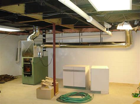 add  wood furnace install quick  dirty rise  man