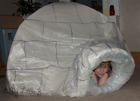 How To Make Paper Igloo - gallery for gt how to make an igloo out of paper