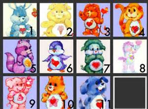 care bear cousins picture quiz cararose