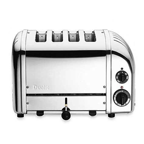 bed bath and beyond toasters dualit 174 4 slice chrome toaster bed bath beyond
