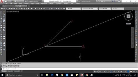 5 Drawing Commands In Autocad by How To Draw Xline Command In Autocad Showing With Image