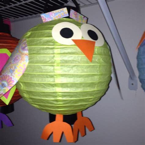 Paper Lanterns Craft Ideas - best 25 paper lantern owl ideas on bird theme