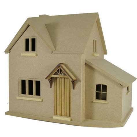 Hurstwood Cottage Dolls House Kit 1 24 Scale Bdh0524