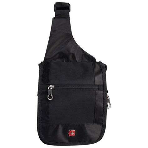 C772 Black Sling Bag swissgear travel bag boarding sling bag swt0373r black backpacks best buy canada