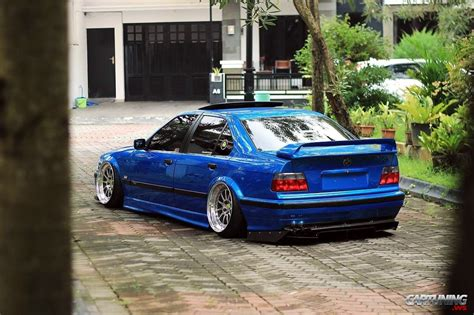 bmw e36 stanced stance bmw 328i e36 back
