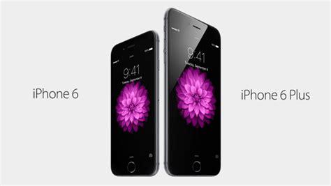 Apple Iphone 6 Ukuran 47 Inch New apple announces 4 7 quot iphone 6 and 5 5 quot iphone 6 plus new design a8 cpu retina hd display