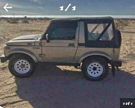 Suzuki Wrecker Suzuki Samurai 4x4 Convertible Tow Air Conditioning