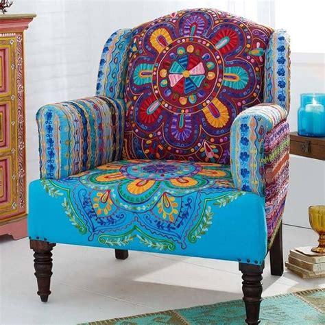 Patterned Upholstered Chairs Design Ideas Boho M 246 Bel Und Designs Darumbinichblank