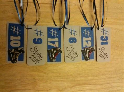 printable hockey decorations tags for goodie bags at state hockey tourney kid stuff