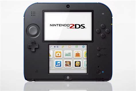 nintendo 2 ds console la nintendo 2ds nouvelle console portable low cost