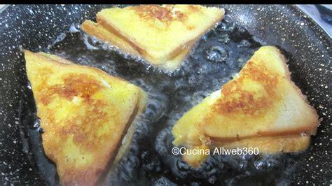 la mozzarella in carrozza mozzarella in carrozza antipasto napoletano