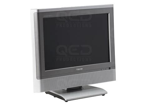 Monitor Lcd Toshiba qed productions equipment toshiba 17wlt56