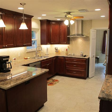 u shaped design inspiration for your small kitchen