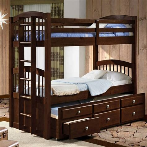 wooden bunk beds with trundle bunk beds with trundle captains trundle bunk