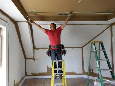 Locating Ceiling Joists by How To Install A Sted Tin Ceiling How Tos Diy