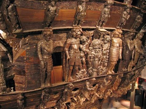 the vasa vasa a 17th century warship that sank was recovered and