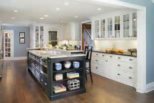 Traditional Contemporary Kitchen - painted white contemporary traditional contemporary kitchen huntington by mountaineer