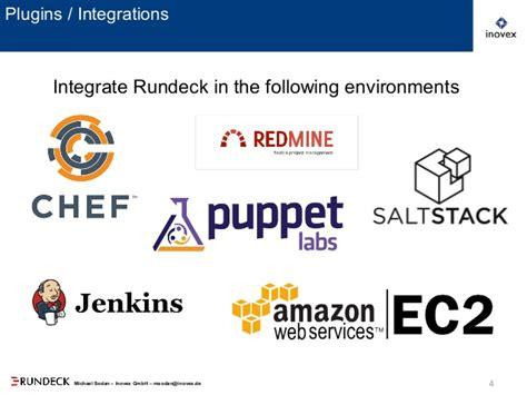 rundeck workflow rundeck open source workflow automation