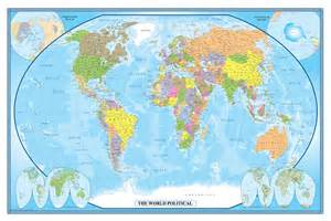 wall map swiftmaps world classic executive wall map poster
