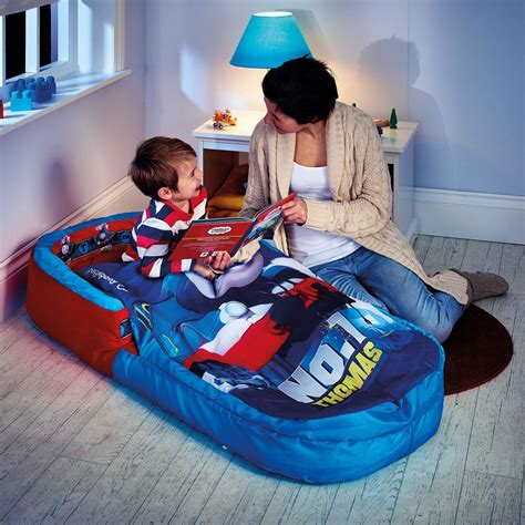 children s inflatable bed kids ready bed inflatable air beds ideal for camping sleepovers ebay