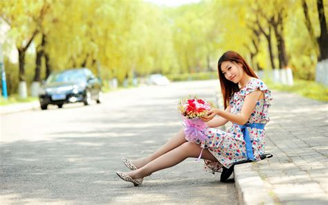 wallpaper girl hd photos chinese girl on road hd wallpaper one hd wallpaper