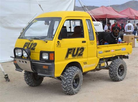 rally mini truck awesome daihatsu hijet 4x4 at the king of the hammers