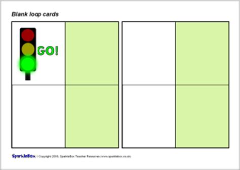 Blank Loop Cards Template search results for box template calendar 2015