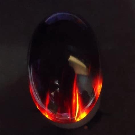 Batu Akik Fospor batu mustika kecubung api keris semar mesem