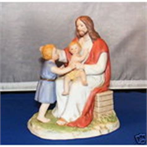 home interior jesus figurines home interior jesus loves children figurine 8827 gset 09