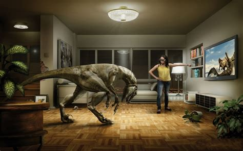best 3d television dinosaurios en el sal 243 n wallpapers