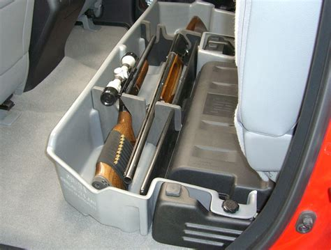 Backseat Gun Rack by Du Ha Truck Storage Box And Gun Rear Seat