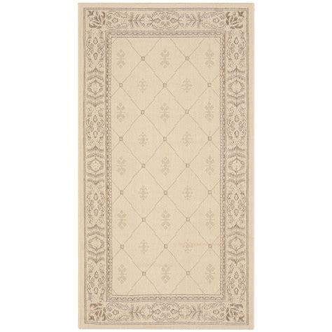 safavieh cy2326 3001 courtyard indoor outdoor area rug beige lowe s canada safavieh courtyard brown 2 ft 7 in x 5 ft indoor outdoor area rug cy2326 3001 3 the