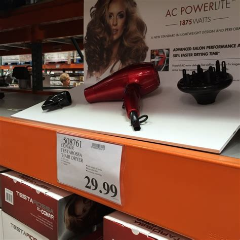 Conair Testarossa Hair Dryer Price costco east locations best deals this week may 9 15