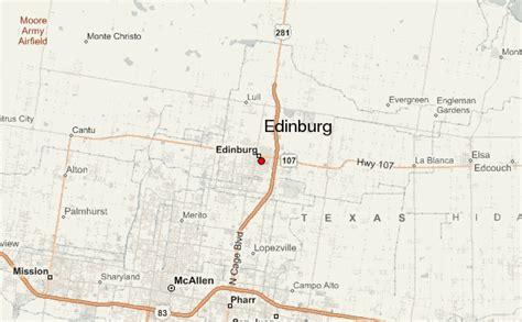 edinburg texas map edinburg location guide