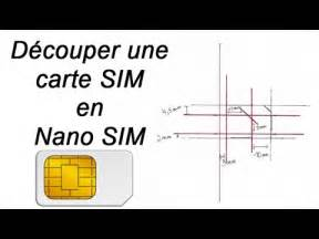 d 233 couper carte sim en nano sim tutoriel iphone 5 5s