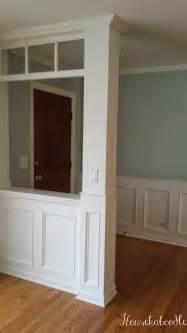 wainscoting from scratch how to make a recessed wainscoting wall from scratch