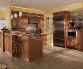 Maple Finish Kitchen Cabinets Maple Cabinets In Medium Finish Cabinetry