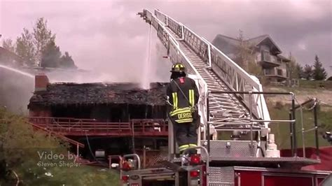 steamboat fire steamboat springs colorado house fire 5 14 15 youtube
