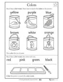 color words worksheet 49 best images about colours on
