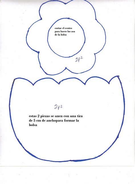 moldes para bolsas de foami plantillas dulceros 5 imagenes educativas